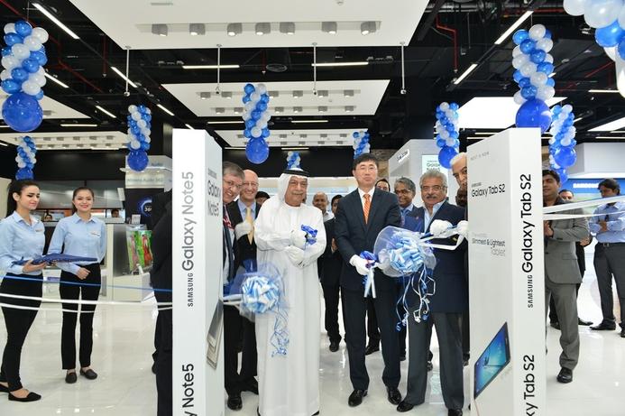 Eros opens rebuilt flagship Samsung store