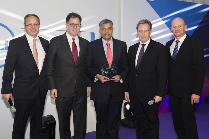 Redington wins award at Dell's solutions conference 2015