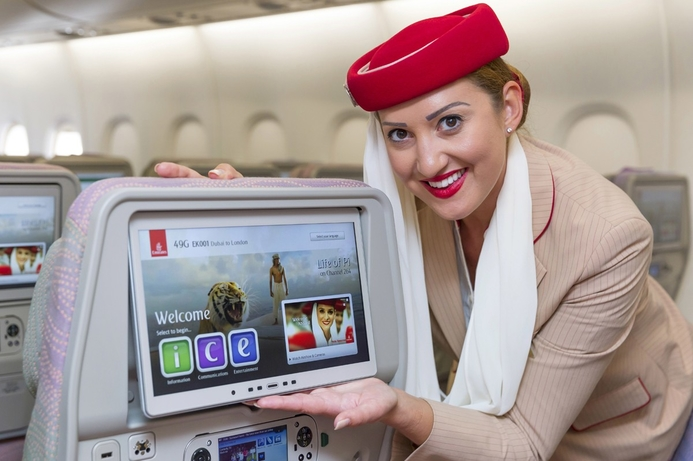Emirates introduces revamped entertainment systems