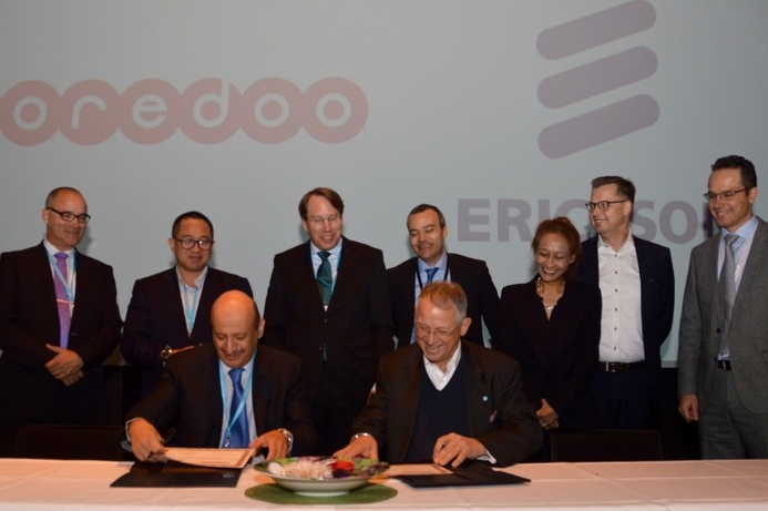 Ooredoo and Ericsson to collaborate on 5G