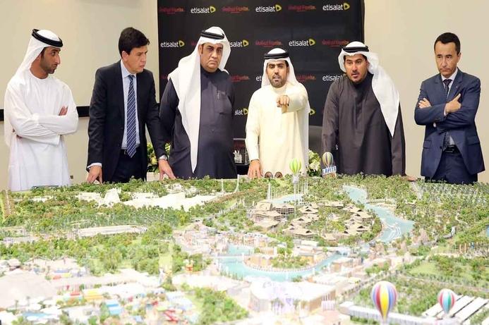 Dubai Parks & Resorts, Etisalat to create 'Smart' theme park