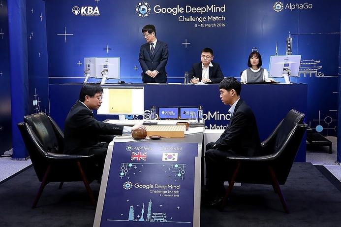 Google's AlphaGo defeats human in first match