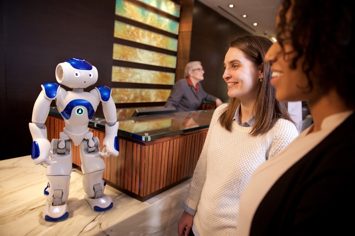 Robot concierge debuts at Hilton hotel