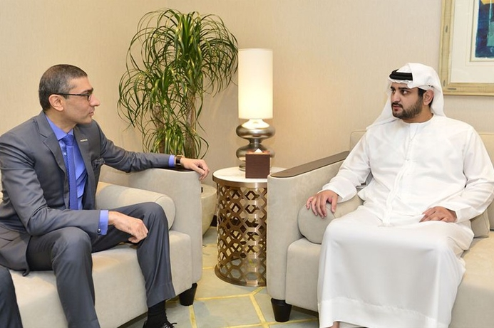 Deputy Ruler of Dubai meets the CEO of Nokia