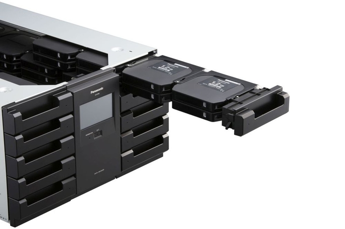 Panasonic showcases new data archiving solution