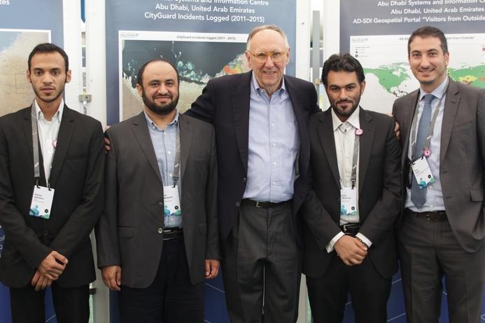 Abu Dhabi participates in Esri conference