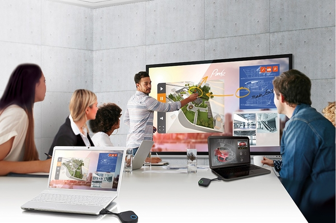 BenQ animates meetings with new interactive panels