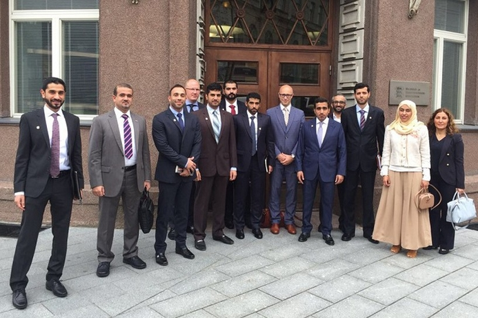 UAE government delegation visiting Estonia