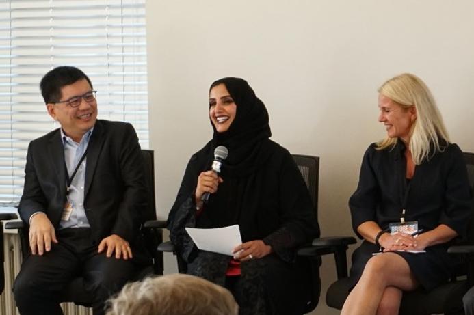 HE Dr Aisha Bin Bishr represents Smart Dubai at BRIDGE SF event