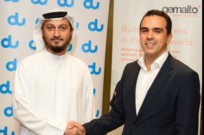 du and Gemalto debut e-SIM in the Middle East