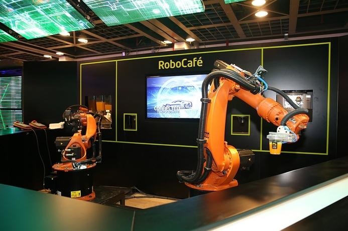 Lockheed Martin sponsors school robotics lab in Jordan