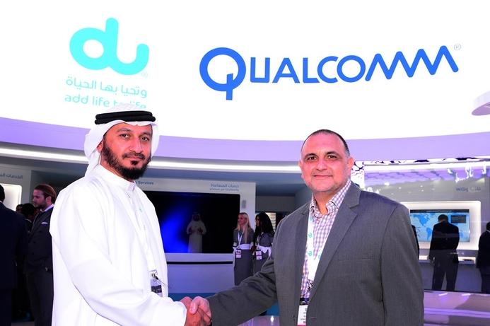 du and Qualcomm showcase WiGig at GITEX
