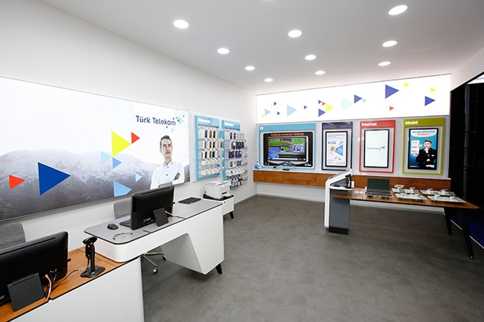 Türk Telekom stores renovate with Innova's digital signage solutions
