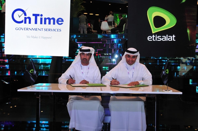 Etisalat, On Time Group team to empower start-ups