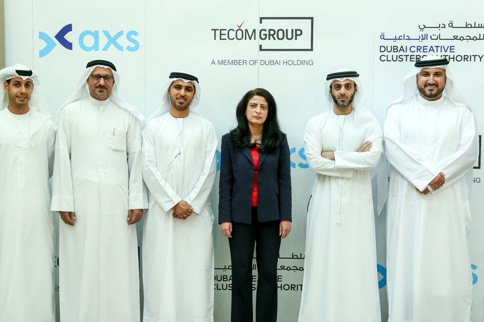 TECOM Group, DCCA open axs smart services centre