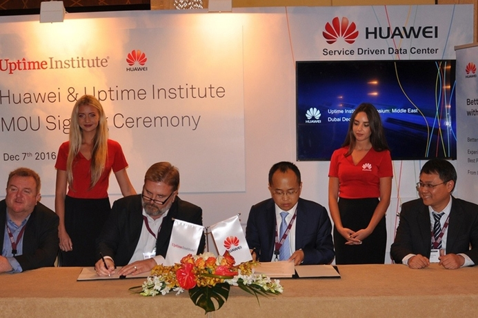 Huawei talks cloud-enabled data centres at Uptime Institute meet