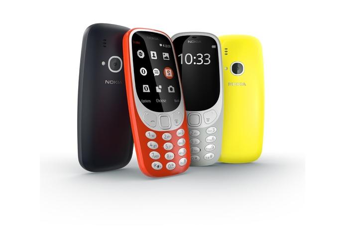 The iconic Nokia 3310 returns