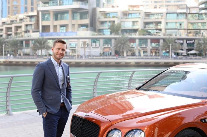 Bentley takes world's most advanced photo in Dubai