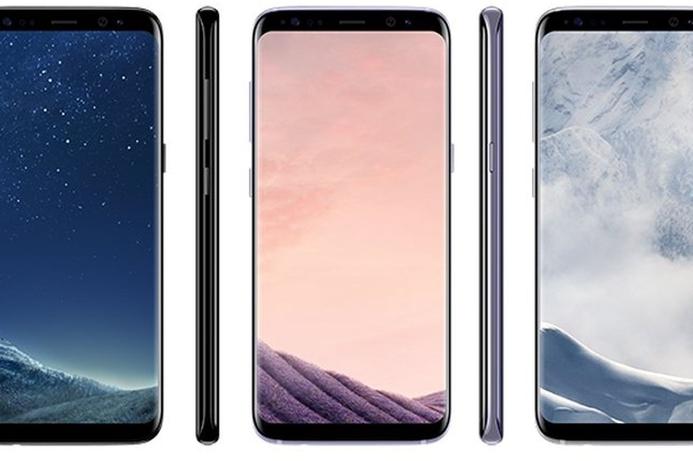 Samsung Galaxy S8 iris scanner cracked