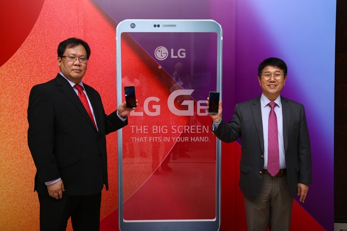 The LG G6 dubbed as 'the big screen that fits in your hand'