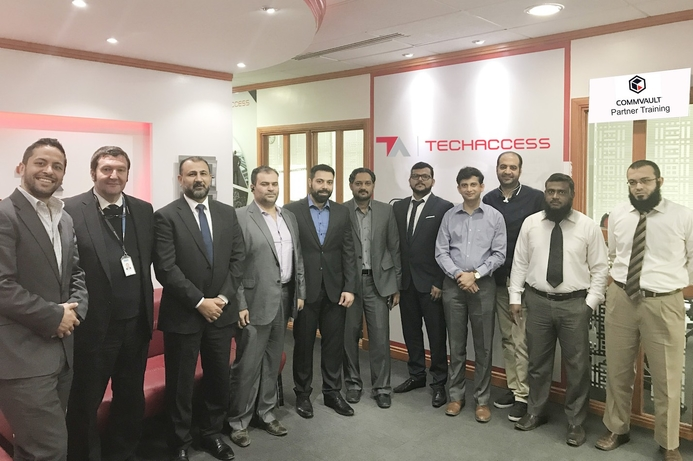 TechAccess hosts training session for Commvault partners in Saudi Arabia