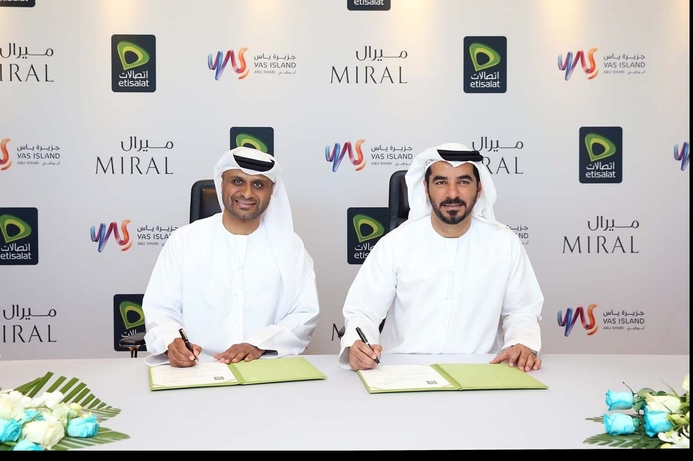 Etisalat, Miral to offer public WiFi on Yas Island