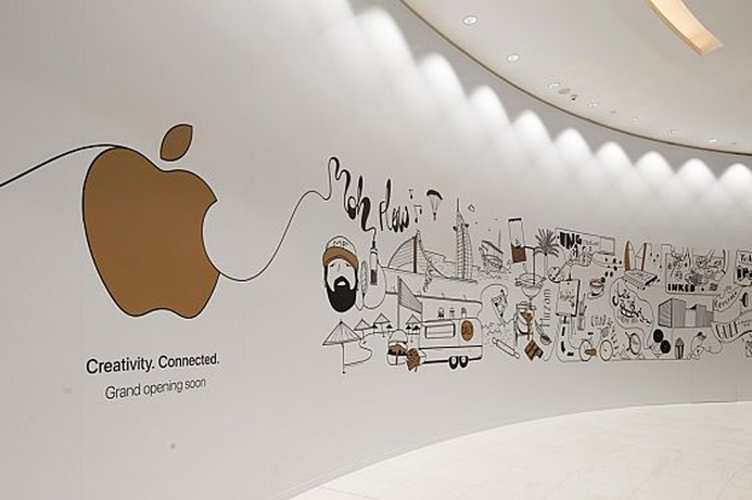 Apple Store at Dubai Mall to open in two weeks