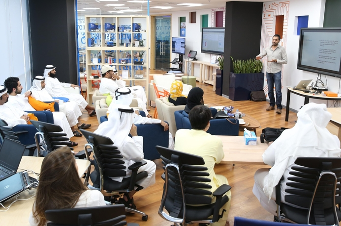 Dubai Silicon Oasis holding Emirati Tech Boot Camp