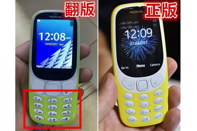 Cloned Nokia 3310 devices surface in Asia