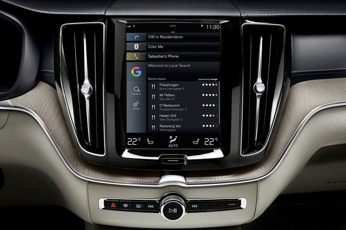 Volvo, Google to build Android into connected cars
