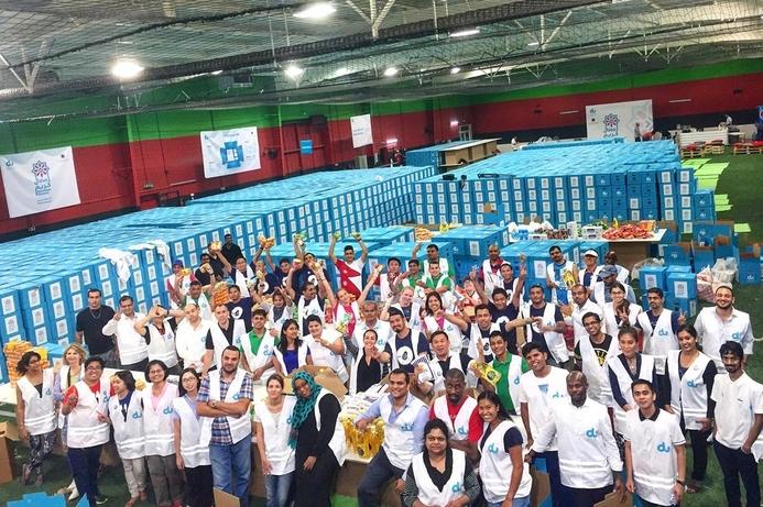 du commits to deliver 10,000 volunteer hours in Ramadan 2017