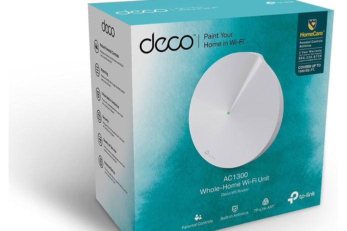 TP-Link launches Deco M5 WiFi system in the Middle East