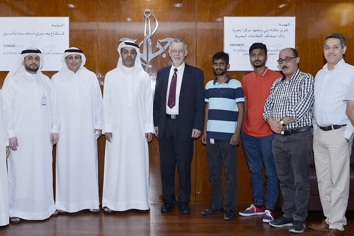 Dubai Maritime City Authority using VR for training