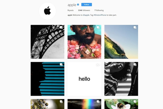 Apple plays catch up and joins Instagram