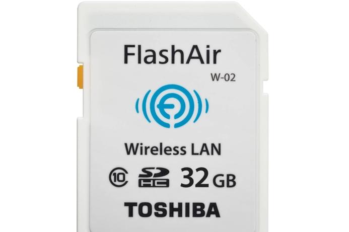 Toshiba Gulf FZE launches FlashAir wireless SD card