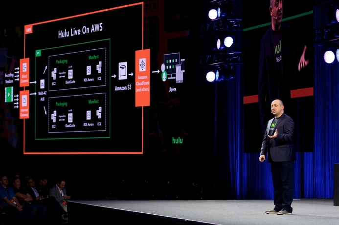 Hulu selects AWS to serve as its cloud provider