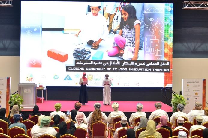 ITA Oman concludes IT KIT children's IT program