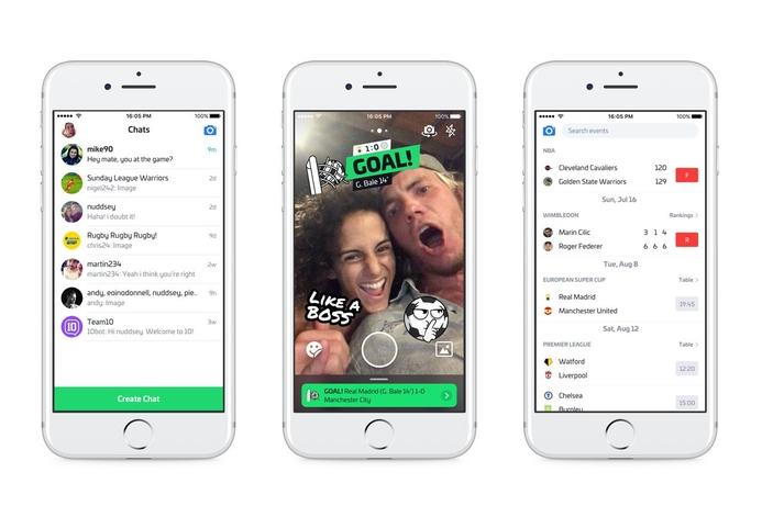 Sporting app '10' debuts in the UAE