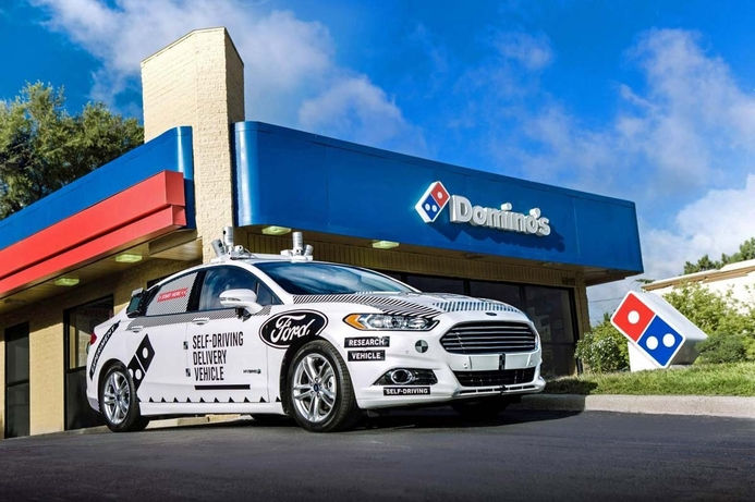 Domino's to test self-driving pizza delivery cars