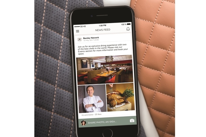 Bentley unveils exclusive app for Middle East owners