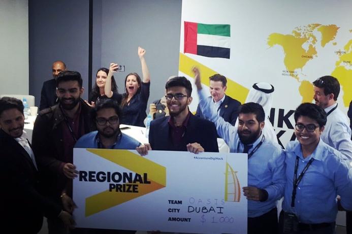 Dubai picks winner of Accenture 'Connected Digital Hackathon'
