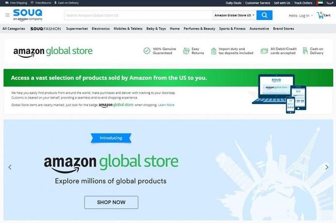 SOUQ launches Amazon Global Store