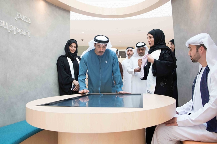 HH Sheikh Hazza bin Zayed launches Tam unified government system