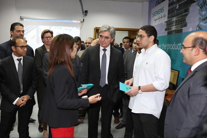 Siemens extends USD 120 million education support to Egypt