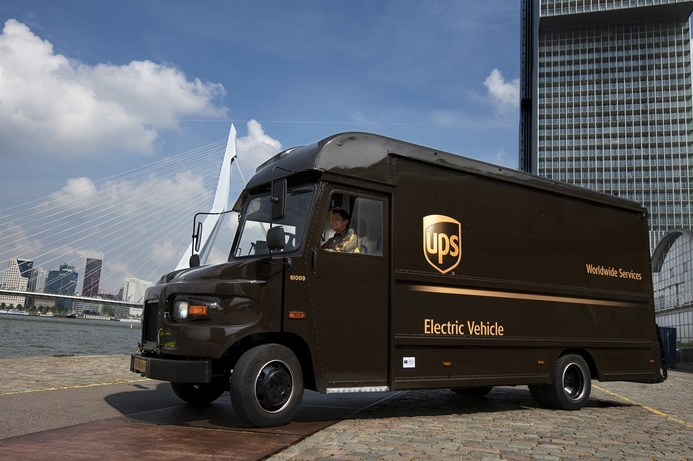 UPS develops solutions to charge large EV fleets