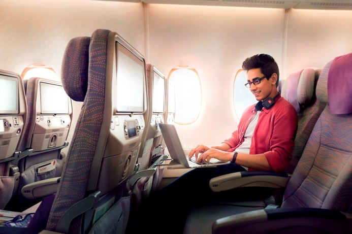 Over one million people use Emirates Wi-Fi in March