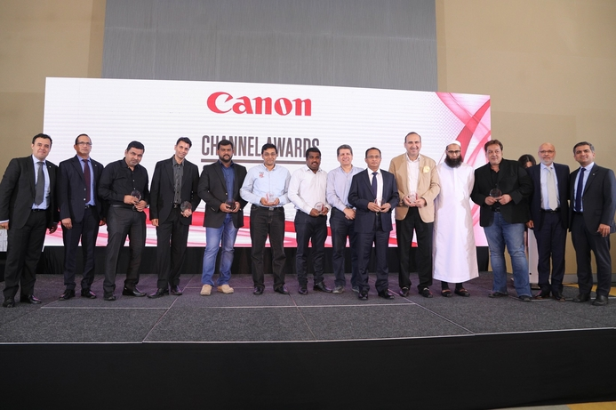Canon Middle East hosts annual partner awards