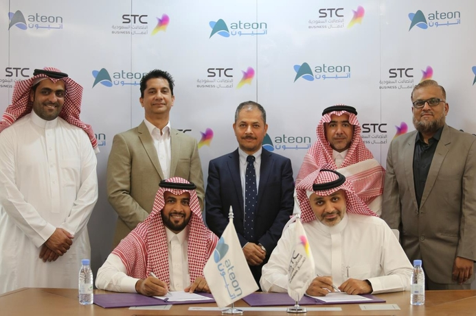 STC and Ateon sign deal for blockchain services for FinTech
