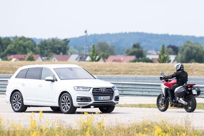 Testing underway on tech to make motorbikes safer