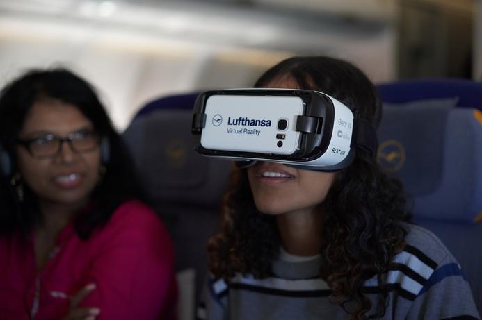 Lufthansa tests inflight VR for passengers